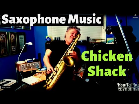 Back at the Chicken Shack - Saxophone Music & Backing Track