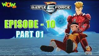 Motu Patlu presents Hot Wheels Battle Force 5 - Man Down - Episode 10-P1 - in Hindi