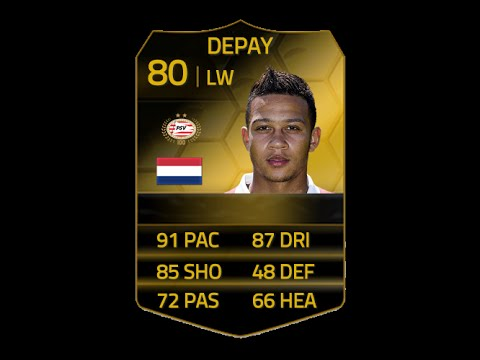 FIFA 14 IF DEPAY 80 Player Review & In Game Stats Ultimate Team
