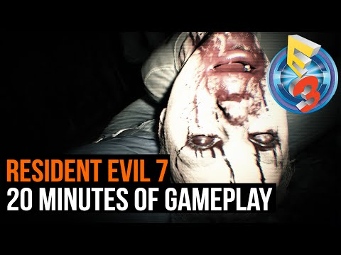 Resident Evil 7 - 20 minutes of gameplay