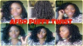 Nafy Afro Puffy Twist Hair