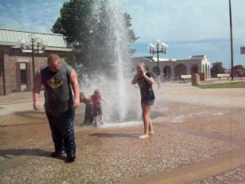 City Fountains are funner than water parks