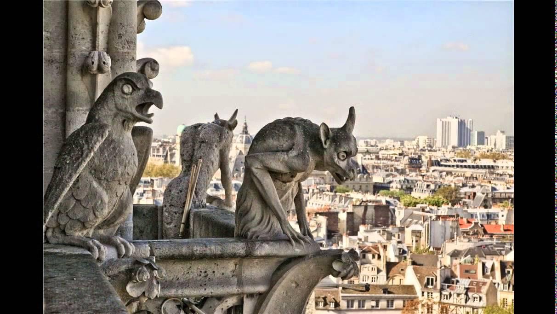 Интерьеры собора парижской