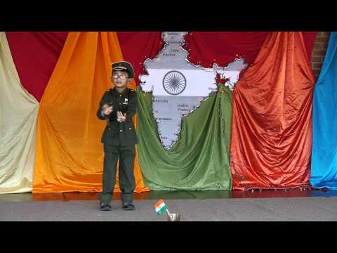 Nanha Munna Raahi Hoon Desh Ka Sipahi Hoon  India Festival 2011...