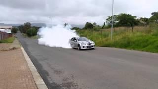 Lumina SS twin turbo burnout.