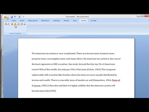 How to insert Zotero citations and references into a Word document