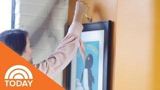 Genius Hack To Hang Wall Art   TODAY