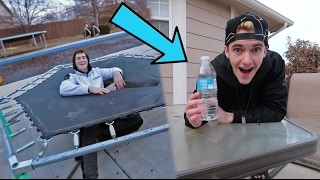 BOTTLE FLIP GAME OF DARE!