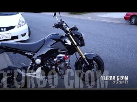 Honda Grom with Yuminashi 150cc Bore Kit and Turbo