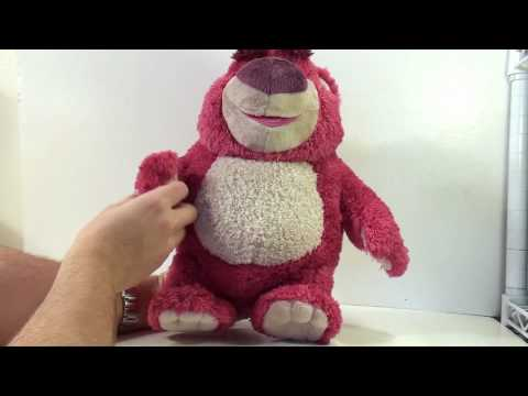 Video review of the Toy Story Collection Series; Lots-o-Huggin  Bear