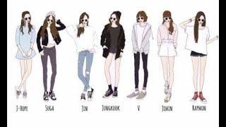 {BTS} Ideal Types of Girlfriends Each Member Wants