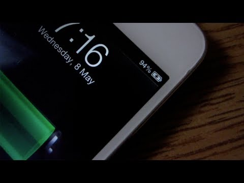 How to get a Battery Percentage on your iPod Touch (NO JAILBREAK!)