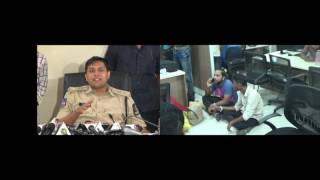 Five Nigerians held by Cyber crime Police,Hyderabad-Sri.Avinash Mohanty,IPS DCP CCS-2