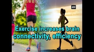 Exercise increases brain connectivity, efficiency - #Health News