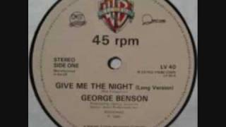 Watch George Benson Give Me The Night video