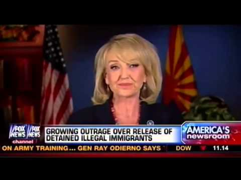 Jan Brewer Struggles to Say