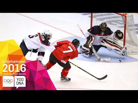 Ice Hockey - Men's Gold Medal Match - Full Replay | Lillehammer 2016 Youth Olympic Games