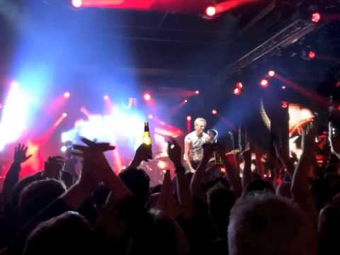Rick Parfitt Jnr and the RPJ Band rock CISCO LIVE! 2014