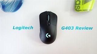 Logitech G403 Prodigy (Wireless) Gaming Mouse Review!