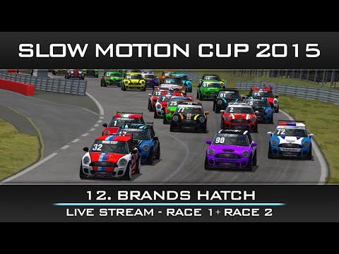 rFactor Mini Cup: Great Britain - Brands Hatch Live Stream - Race 1 + 2