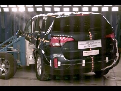 2014 Kia Sorento | Side Crash Test by NHTSA | CrashNet1