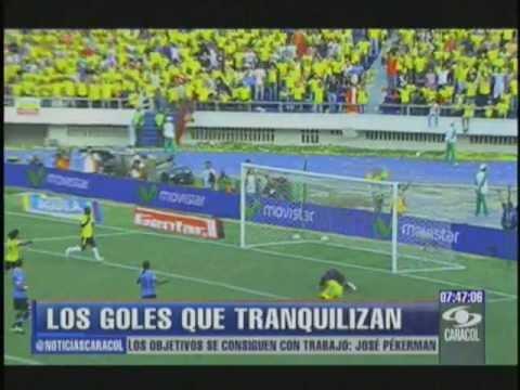 GOLES DE COLOMBIA EN ELIMINATORIA 2014 ANTE URUGUAY Y CHILE
