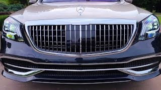 Mercedes S-Class Maybach 2020 - interior Exterior and Drive