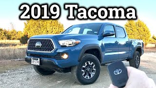 2019 Toyota Tacoma TRD Off-Road Review & Drive