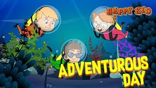 Happy Kid | Episode 4 | Adventurous Day | Kochu Tv | Malayalam