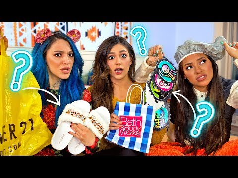Friends Guess Who Bought What! Shopping Challenge!! Niki and Gabi