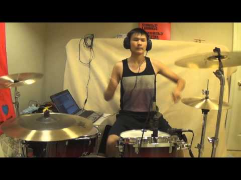 Adventure Club - Gold ft. Yuna - Drum Cover by Kenneth Wong - Kenneth25Wong