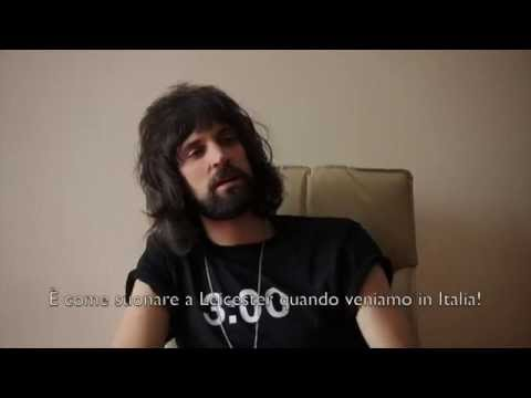 Kasabian - Sergio Pizzorno - Interview about the new album, shows and time travel