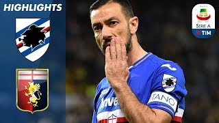 Sampdoria 2-0 Genoa | Sampdoria win the Derby with double! | Serie A