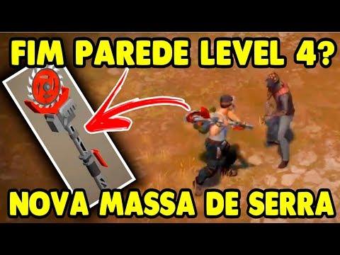 Nova Massa de Serra derruba Parede level 4? veja em Funcionamento - Last Day On Earth