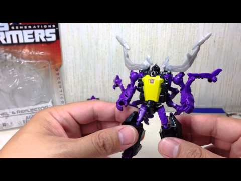 Skrapnel & Reflector Transformers Generations Legends 2 pack Toy Review