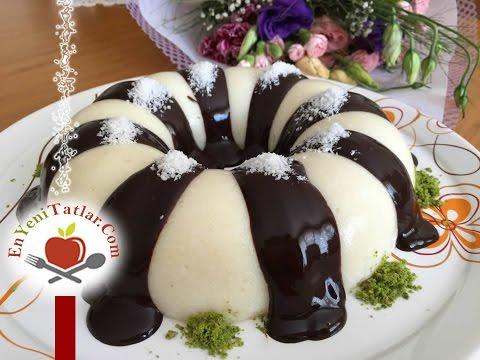 Sütlü İrmik Tatlısı Tarifi | Çikolatalı Sütlü İrmik Tatlısı Nasıl Yapılır
