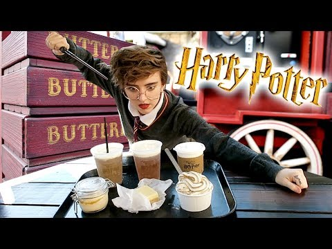 Trying ALL the Butterbeer at the Wizarding World of Harry Potter