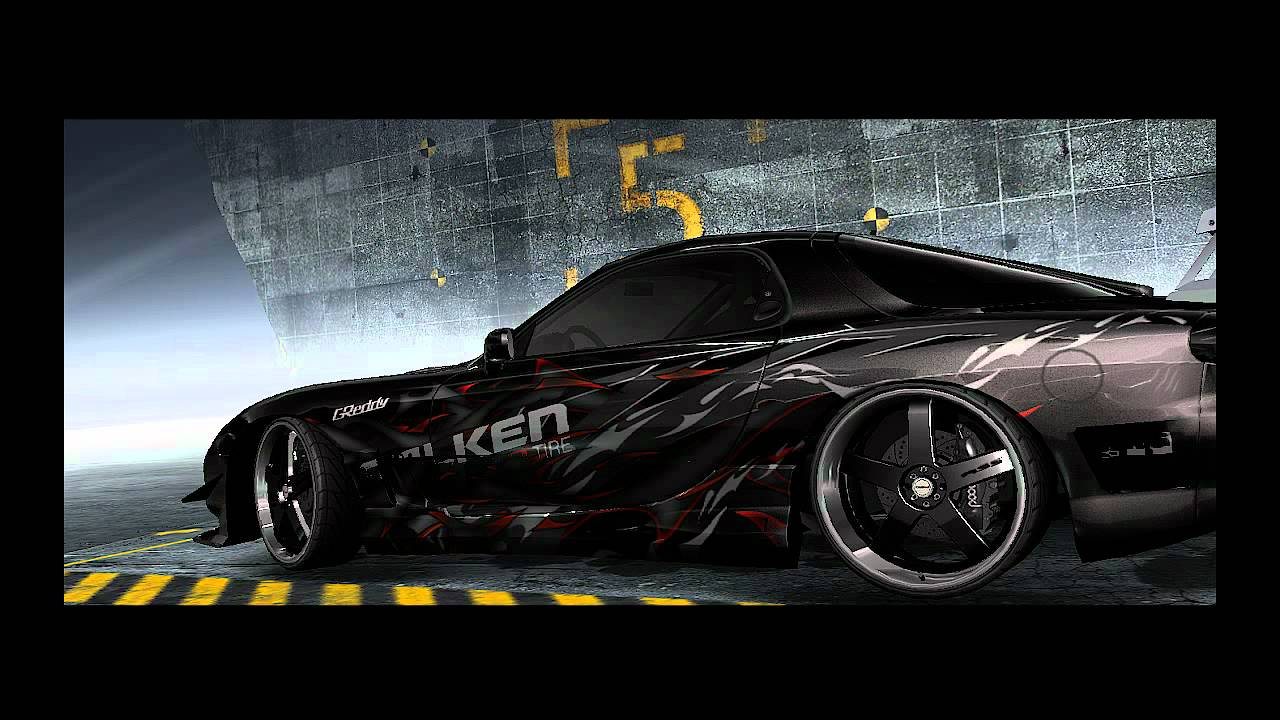 Need For Speed Prostreet Customized Cars Mazda Rx 7 Youtube