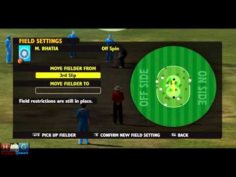 Ashes Cricket™ 2009 : India v/s New Zealand - 25 over ODI match Tournament (Episode #6/END)