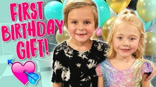 HUGE BIRTHDAY SURPRISE!! ❤️ First Secret Crush With Everleigh!! 💕