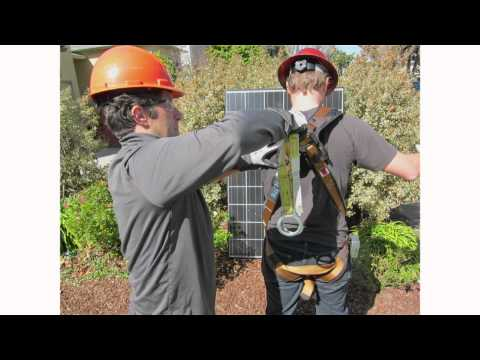 CDPH/FACE:  Preventing falls in the solar industry