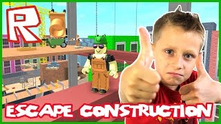 Escape The Construction Yard Obby / Roblox