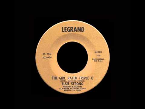Elsie Strong - The Girl Rated Triple X