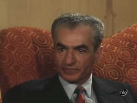Shah Of Iran Critisizing Britain