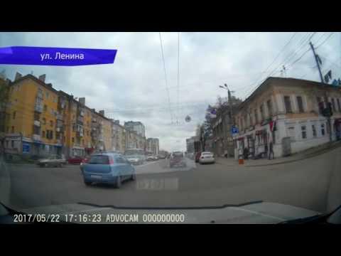 Видеорегистратор. В сантиметрах от патрульной машины ППС. Место происшествия 25.05.2017