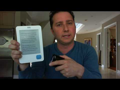 The Kobo Wireless eReader Now Available at Best Buy Canada
