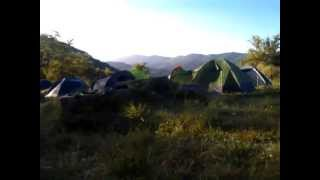 Morning in our camp