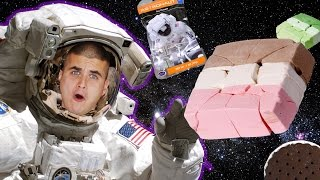Trying Astronaut Ice Cream | Space Food