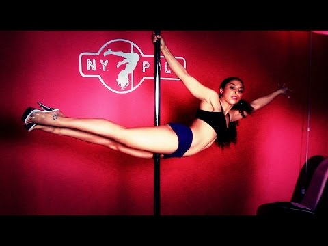 How to Do the Superman Move   Pole Dancing