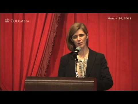 Samantha Power: Obama, Human Rights, and the Lessons of the New Diplomacy